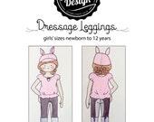 Dressage Leggings Pattern