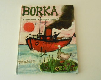 Borka the goose with no feathers England nature birds rehab J Burningham
