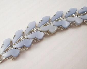 Leru Bracelet fiftie blue moon glow plastic
