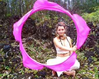 The LoTuS BLoSsOm Hula HoOp Attachment // Made to Order with Custom Size and Colors