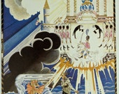 KAY NIELSEN Color Art Illustration For 'The Fisherman And His Wife', From Hansel And Gretel And Other Stories by Brothers Grimm, circa 1980