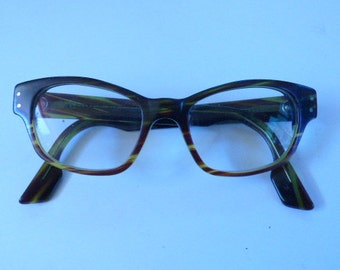 Very Nice Solid Allure Designer Glasses From The Early 1990's In Great Shape! Made in Paris