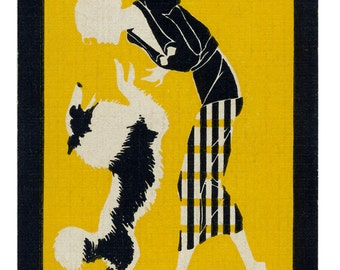 TRICK-N-TREAT (1) Vintage Single Swap Playing Cards Paper Ephemera Scrapbook