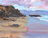 Blacks Beach Landscape Painting San Diego