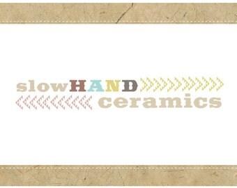 PreDesigned Logo - PreMade Logo - Vector Logo - SLOW HAND Logo - Southwest Logo - Tribal Logo - Arrow Logo