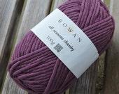 BULKY Weight Yarn - Rowan All Seasons Chunky - Cotton Blend -  Jetsam #609 - 100g - 93 yards