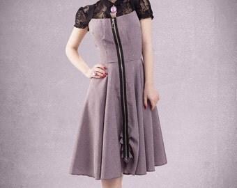 Tatjana dress and lace top By TiCCi Rockabilly Clothing