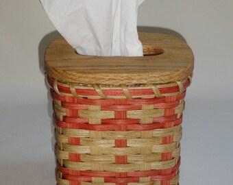 Tissue Basket / Tissue Box / Handwoven Basket