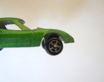 Corvette Tootsie Toy Green Car Toy Chicago Collectible