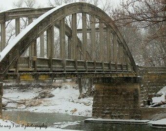 Cottonwood River Bridge in Emporia Kansas