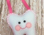 Tooth Fairy Pillows Your choice of color WITH a custom hanging ribbon