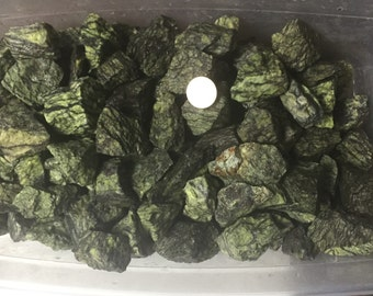 Wholesale 1lb+ Serpentine Rough Stones