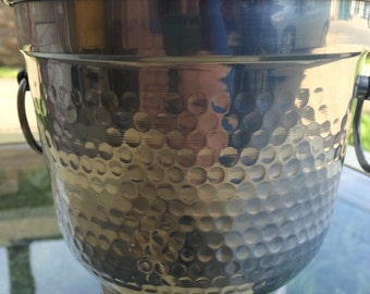 Vintage Ice Bucket. Ice Bucket. Aluminum Ice Bucket. Small Ice Bucket
