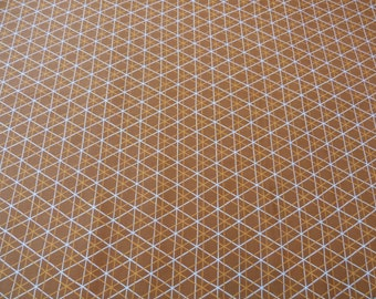 A-line in brown, Highline Collection by Erin McMorris for Free Spirit Fabrics, 1/2 yd