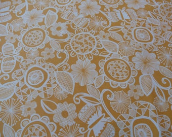 Chelsea in Yellow, Highline Collection by Erin McMorris for Free Spirit Fabrics, 1/2 yd