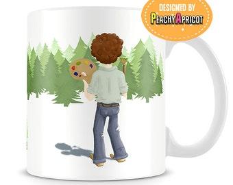 Bob Ross - Quotes mug