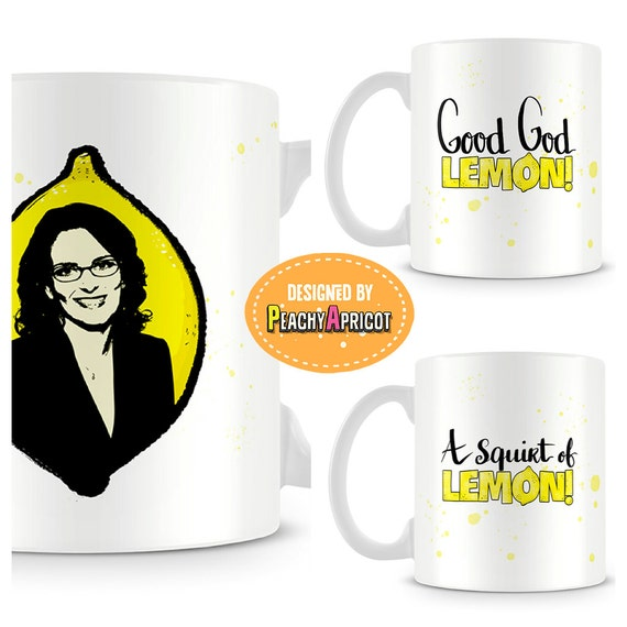 Tina Fey in a Lemon Mug