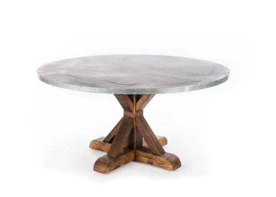 Zinc Table Zinc Dining Table Trestle Zinc Top Dining Table : il570xN800360029kl43 from etsy.com size 570 x 407 jpeg 19kB