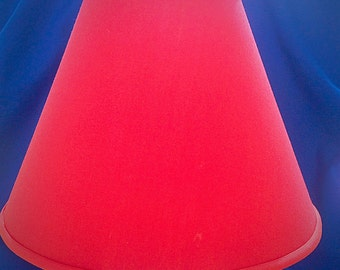 Tomato Red Lamp Shade