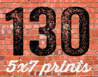 130 PRINTED INVITATIONS and white envelopes FREE shipping