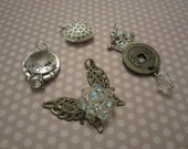 Assortment of Charms Jewelry Supplies