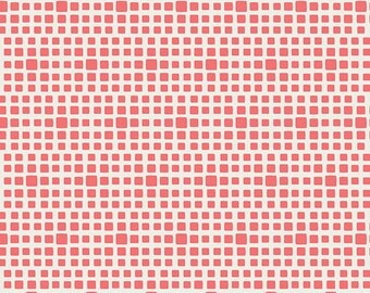 Squared Elements Watermelon by Pat Bravo for Art Gallery Fabrics
