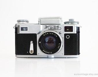 Vintage Kiev 4M Soviet Camera Jupiter 8-M Lens Contax Replica