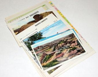 North Dakota - United States Vintage Travel Collage Kit