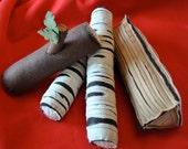 Campfire Felt Handmade Toy Logs