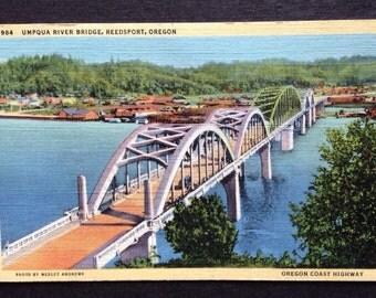 Umpqua River Bridge Reedsport Oregon