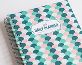 The Daily Planner - Jade Waves (60 days planner)