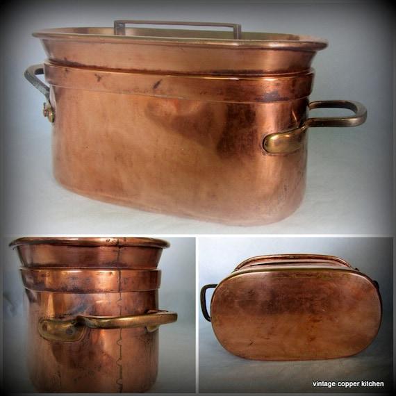 how to clean antique copper pots