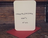 Mardy Mabel Exam Results Congratulations Card