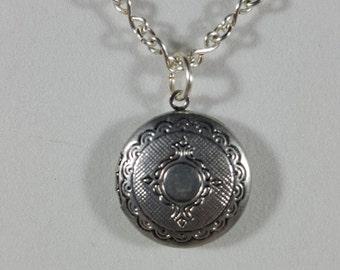Infinity Locket Necklace