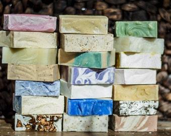 Handmade Soaps Variety Pack (5 bars)