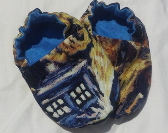 Baby Booties Boy - Dr. Who Exploding Tardis