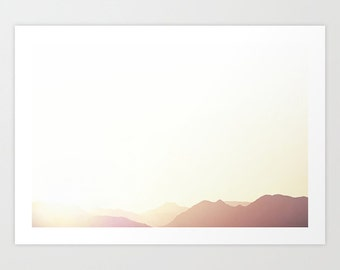 Sunrise Landscape Photography Print