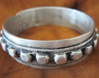 Old Tribal Berber pure Silver bracelet