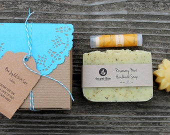Bee Joyful Gift Set - Thank You Gift, Hostess Gift, Appreciation Gift, Teacher Gift, Mother's Day