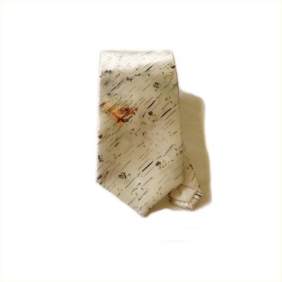 Pearl Beach Birch necktie