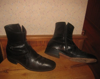western low cut cowboy boot shoes mens 10 m by dotyvintage