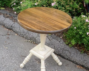 Round Top Side Table End Table Plant Stand Living Room Furniture