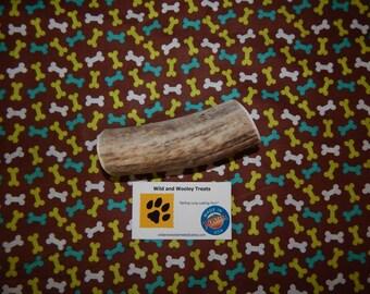 "Organic XL Elk Antler Dog Chew ""Made in Montana"" (Lot W45)"