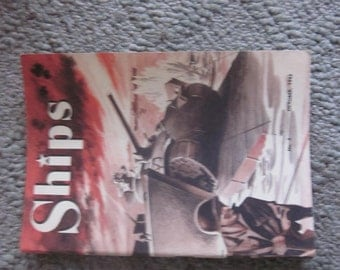 1943 ship builders booklet, how ships are built