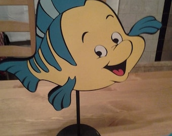 Flounder center piece