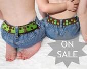 Boy Toddler Belt - Reversible - Brown & Green