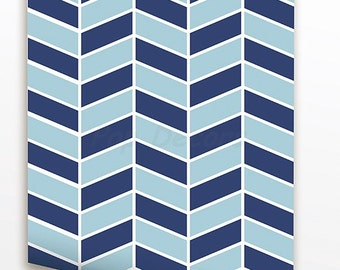 Herringbone Allover Wallpaper - Removable Fabric Wall Decors Custom Colors Just Peel and Sticker Wallpapers prt0048