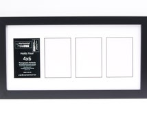 3 4 5 6 7 8 9 10 11 12 13 14 Opening Black Picture Frames to Hold 4x6 Photographs with Multiple Opening Collage Mat