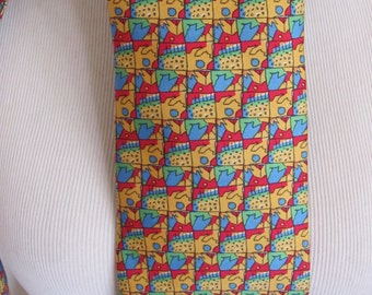 Georges Dubceuf Andre Claude Canova France - Mens Colorful Silk Neck Tie