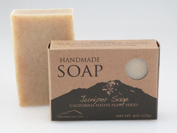 Juniper Sage - Handmade Vegan Soap - California Native Plant Series